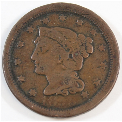 1850 USA Cent Very Good (G-8)