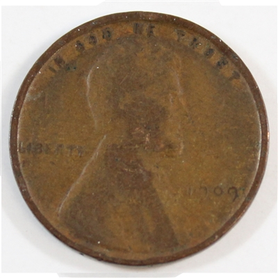 1909 USA Lincoln Cent VG-F (VG-10)