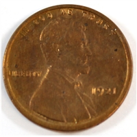 1921 USA Cent UNC+ (MS-62)