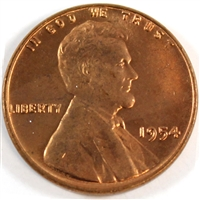 1954 USA Cent Choice Brilliant Uncirculated (MS-64)