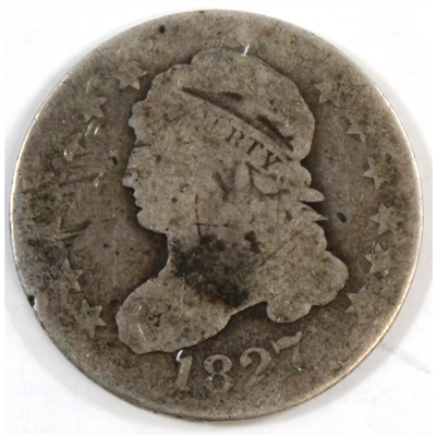 1827 USA Dime About Good (AG-3)