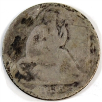 1838 USA Dime Poor