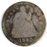 1843 USA Dime About Good (AG-3)