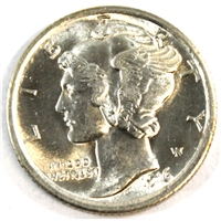 1916 Mercury USA Dime Choice BU (MS-64)