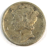 1918 USA Dime VF-EF (VF-30)