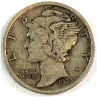 1923 USA Dime VF-EF (VF-30)