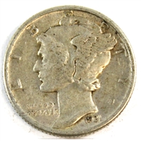 1931 USA Dime VF-EF (VF-30)