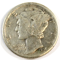 1934 USA Dime VF-EF (VF-30)