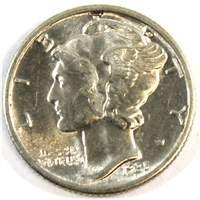 1935 USA Dime Brilliant Uncirculated (MS-63)
