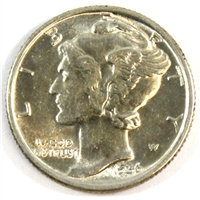 1936 USA Dime Brilliant Uncirculated (MS-63)