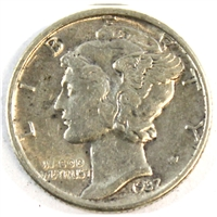 1937 USA Dime Almost Uncirculated (AU-50)