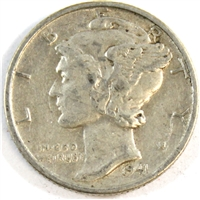 1941 D USA Dime Very Fine (VF-20)