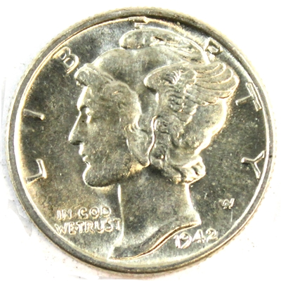 1942 USA Dime Brilliant Uncirculated (MS-63)