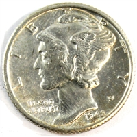 1942 S USA Dime Brilliant Uncirculated (MS-63)