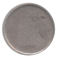 1842 USA Half Dime Poor