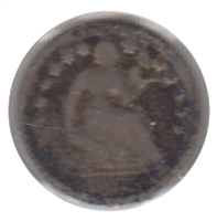1856 USA Half Dime About Good (AG-3)