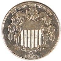 1883 Shield USA Nickel UNC+ (MS-62)
