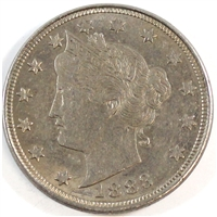 1883 Cents USA Nickel Almost Uncirculated (AU-50)