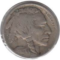 1913 Var. 1 Raised Ground USA Nickel VF-EF (VF-30)