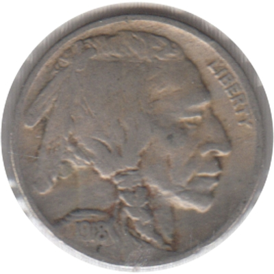 1918 USA Nickel Very Fine (VF-20)