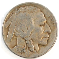 1926 D USA Nickel VF-EF (VF-30)