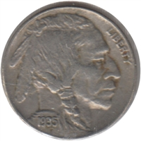 1935 USA Nickel Extra Fine (EF-40)