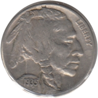1935 S USA Nickel VF-EF (VF-30)