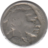 1935 S USA Nickel Very Good (VG-8)