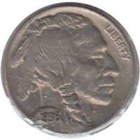 1936 USA Nickel EF-AU (EF-45)