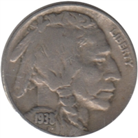1938 D USA Nickel VF-EF (VF-30)