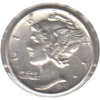 1943 S USA Dime Almost Uncirculated (AU-50)