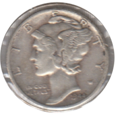 1944 S USA Dime Very Fine (VF-20)