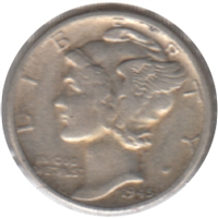 1945 D USA Dime Very Fine (VF-20)