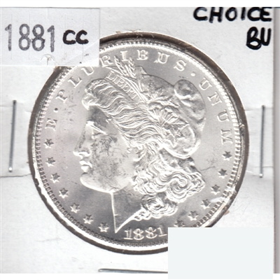 1881 CC USA Dollar Choice Brilliant Uncirculated (MS-64) $