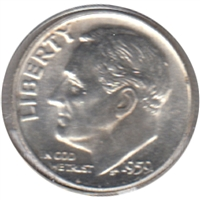 1959 USA Dime Choice Brilliant Uncirculated (MS-64)