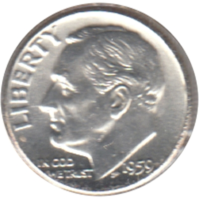 1959 USA Dime Brilliant Uncirculated (MS-63)