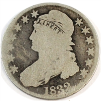 1832 USA Half Dollar Good (G-4)