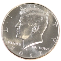 2017 P USA Kennedy Half Dollar Brilliant Uncirculated (MS-63)