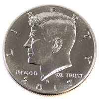 2017 D USA Kennedy Half Dollar Brilliant Uncirculated (MS-63)