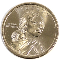 2014 P Native American USA Dollar Brilliant Uncirculated (MS-63)