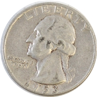 1953 USA Quarter Circulated