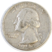 1953 D USA Quarter Circulated