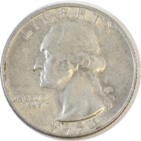 1954 D USA Quarter Circulated