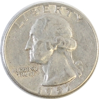 1957 USA Quarter Circulated