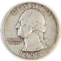 1959 USA Quarter Circulated