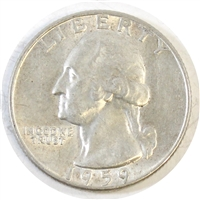1959 D USA Quarter Circulated