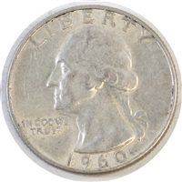 1960 USA Quarter Circulated