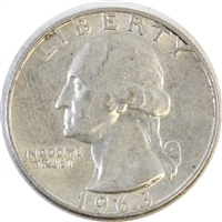 1963 D USA Quarter Circulated