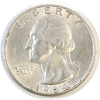 1964 USA Quarter Circulated