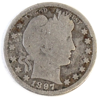 1897 S USA Quarter Good (G-4)